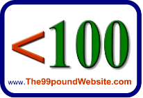 The99PoundWebsite.com - Custom 3 Page  Websites from £99 including Domain Name.